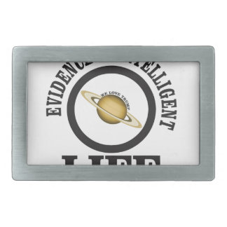 trump intelligence rectangular belt buckle