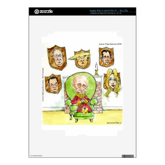 Trump Is Putin On The Ritz Gifts Decal For iPad 3