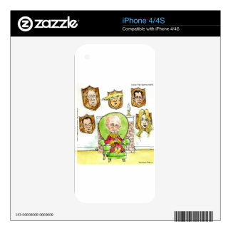 Trump Is Putin On The Ritz Gifts iPhone 4 Skins