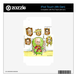 Trump Is Putin On The Ritz Gifts iPod Touch 4G Decal