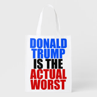 Trump is the Worst Grocery Bag