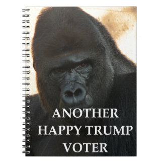 trump joke notebook