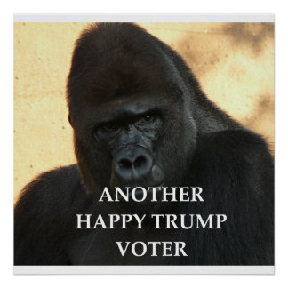 trump joke poster