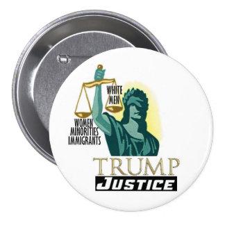 Trump Justice Pinback Button