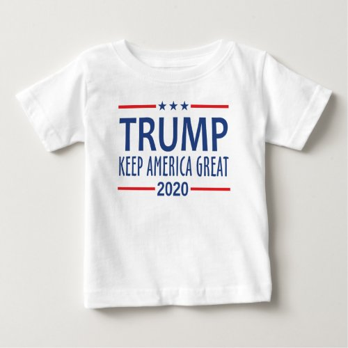 Trump Keep America Great Baby T_Shirt