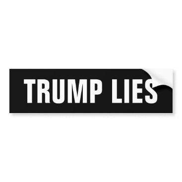 OniTees Trump Lies Bumper Sticker