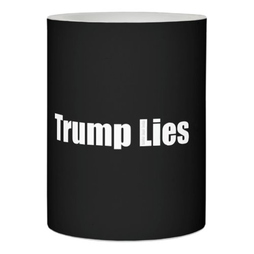 Trump Lies Flameless Candle