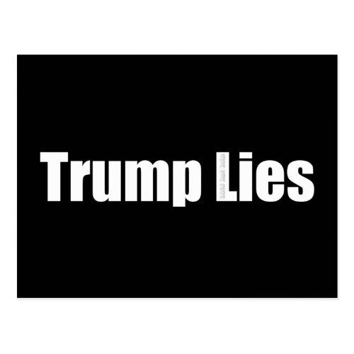 Trump Lies Postcard