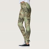 TRUMP MAGA 2020 camouflage Leggings