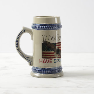 Trump MAGA Large Coffee Mug - We The People