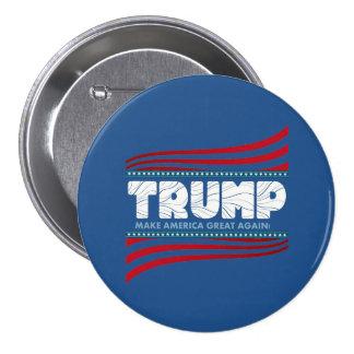 Trump - Make America Great Again 3 Inch Round Button