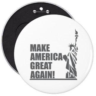 Trump - Make America Great Again 6 Inch Round Button
