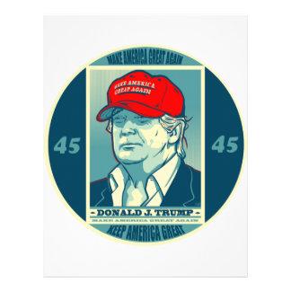 Trump: Make America Great Again MAGA Letterhead