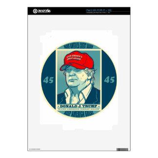 Trump: Make America Great Again MAGA Skins For The iPad 2