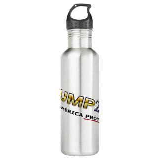 Trump Making America Proud Again water bottle (lt)