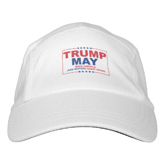 Trump May 2016 - Make American and Britain Great A Hat