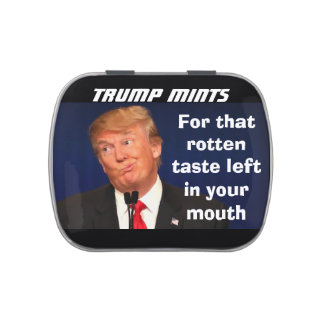 Trump Mints For that bad taste left in your mouth Jelly Belly Candy Tin