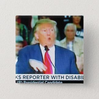 Trump Mocks Reporter Button