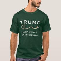 """Trump - New Swamp. Same Snakes"" T-Shirt"