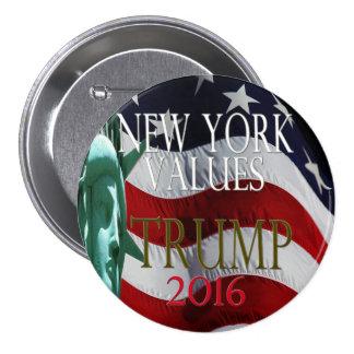 TRUMP NEW YORK VALUES 2016 Button