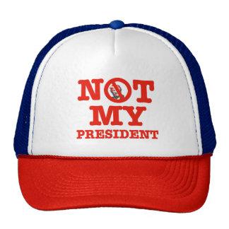 trump not my president trucker hat