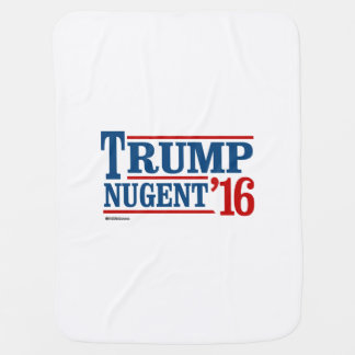 Trump Nugent 2016 Swaddle Blankets