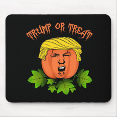 Trump or treat mouse pad