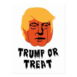 Trump or Treat Postcard