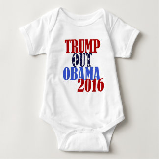 Trump Out Obama 2016 Baby Bodysuit