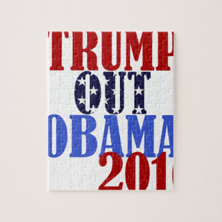 Trump Out Obama 2016 Jigsaw Puzzle