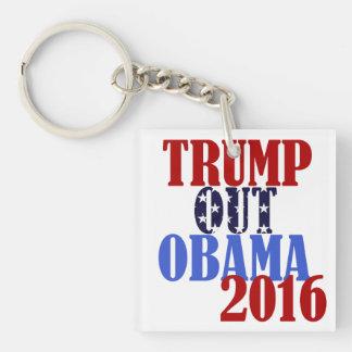 Trump Out Obama 2016 KeyChain