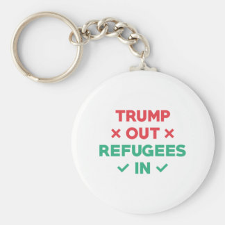 Trump Out Refugees In Keychain