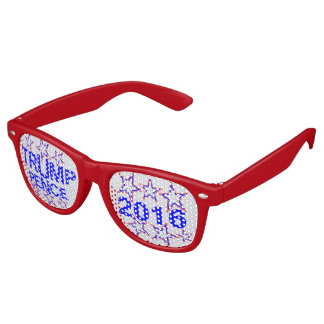 Trump Pence 2016 Candidates Election Night Swag Retro Sunglasses