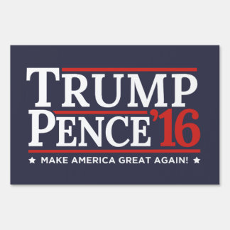Revered image regarding printable trump sign
