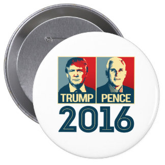 Trump Pence 2016 Poster - -  Pinback Button