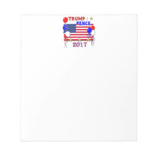 Trump Pence 2017 Inauguration Notepad