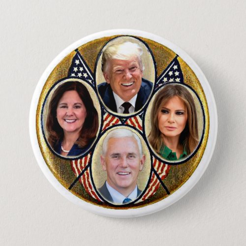 TrumpPence 2020 Button