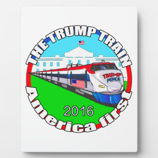Trump Pence America first Plaque