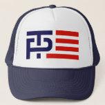 "Trump Pence Campaign Logo Trucker Hat<br><div class=""desc"">Trump Pence Campaign Logo</div>"