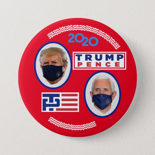 Trump  Pence covid_2020 Button