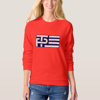 Trump Pence Flag - Blue -  -  Sweatshirt