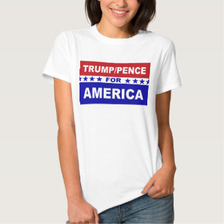 Trump Pence for America Tee Shirt