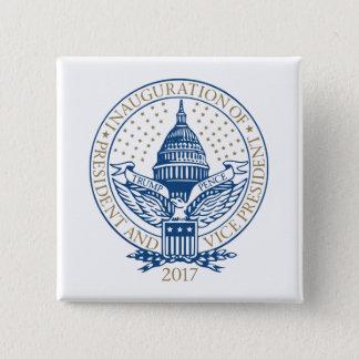 Trump Pence President Inaugural Logo Inauguration Button