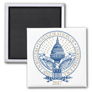 Trump Pence President Inaugural Logo Inauguration Magnet