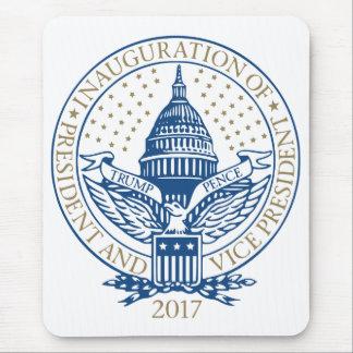 Trump Pence President Inaugural Logo Inauguration Mouse Pad