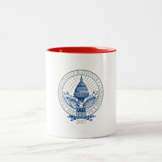 Trump Pence President Inaugural Logo Inauguration Two-Tone Coffee Mug