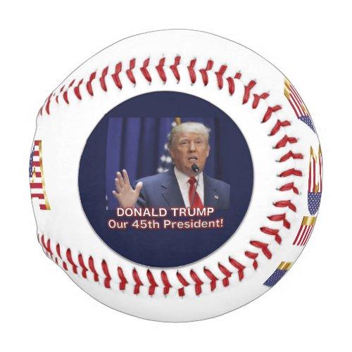 Trump Pence Presidential Baseball