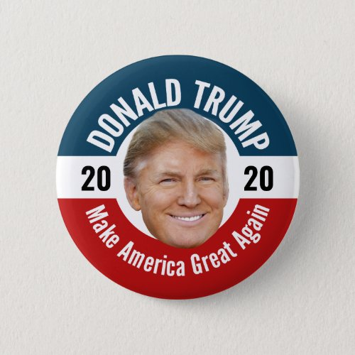 Trump Photo _ Floating Head Design Button