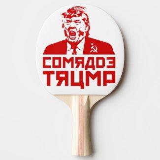 Trump Ping Pong Paddle:
