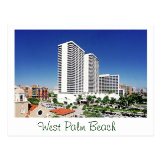 Trump Plaza, West Palm Beach, Florida Postcard